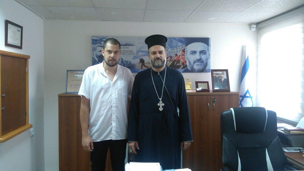 GAbriel Naddaf und ich